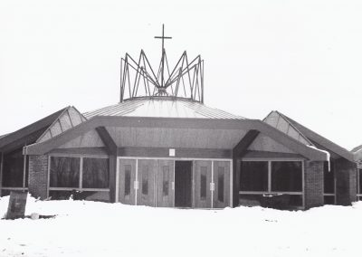 New Church Construction Jan 1969