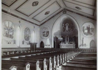 Original Church Interior Murals c1888